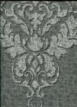 Marcia Wallpaper Hadrian Damask Dark Grey 35509 By Holden Decor For Options